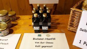 Bio-Hanf von Gut Onnau